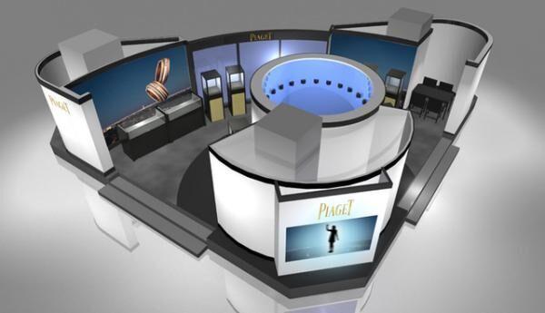 「ピアジェ」が「ポセション」のリニューアルを記念したフォトブース「360°POSSESSION PHOTO BOX」を伊勢丹新宿店に設置