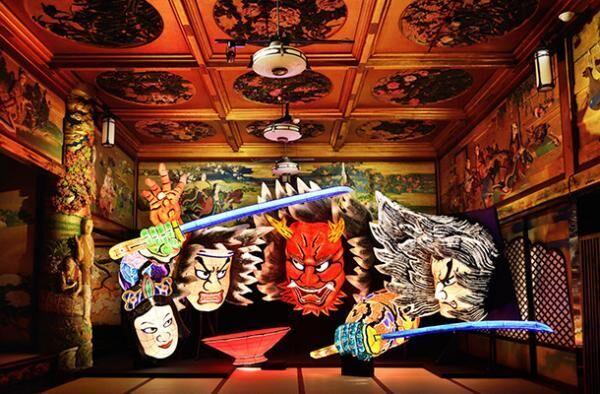 「和のあかり×百段階段」展 ~日本の祭り、12のあかり~/百段階段に巨大なねぶたを展示