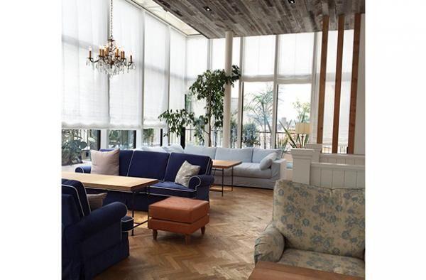 ロンハーマンに併設されるアールエイチカフェ