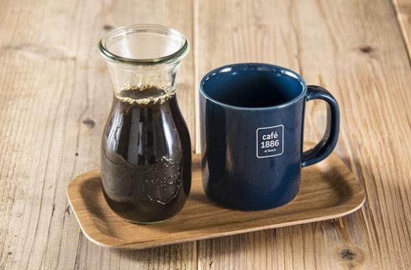 トリバコーヒーが「カフェ 1886 アット ボッシュ」のためにブレンドしたコーヒー