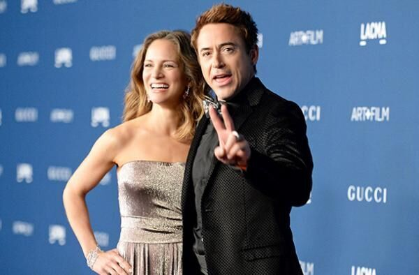 ロバート・ダウニーJr.&妻のスーザン/(C) Getty Images