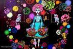 """アーティスト藤田理麻の""""魔法""""を体感、絵画展「Maya~幻想と魔法~」が新宿伊勢丹で開催"""