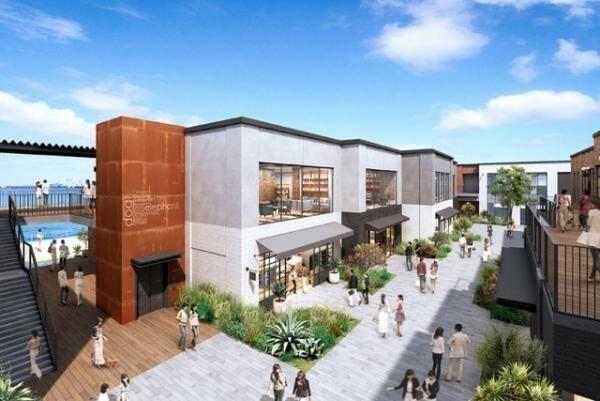 横浜赤レンガ倉庫に隣接する新しい商業施設・MARINE&WALK YOKOHAMAが16年3月にオープン