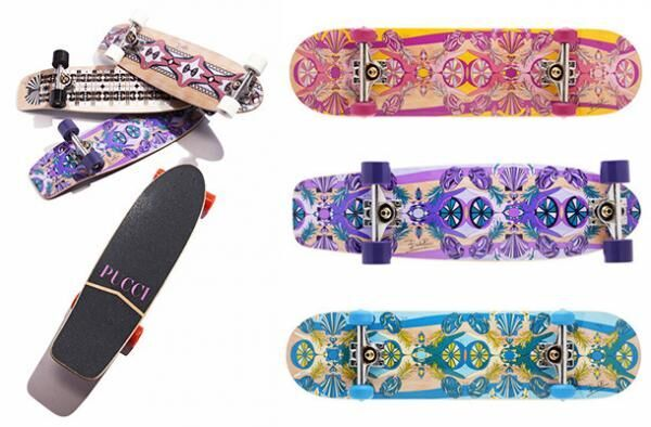 エミリオ・プッチがブランド初となるスケートボードコレクションを発売/「Street Shape」&「Crusier Shpae」の2モデルで展開