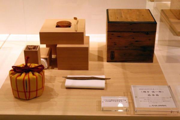 「未来へ繋ぐ茶箱展」緒方慎一郎の作品「抹茶箱」