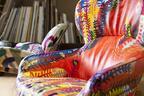 """絵本作家ミロコマチコ×家具、""""太陽""""がテーマのイベント開催。音楽とペイントのライブも"""