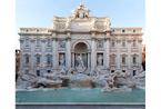 イタリア・ローマの「トレビの泉」修復工事完了、フェンディが単独支援