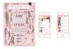 """""""オトナ女子""""がターゲット。日本初、アプリ×雑誌のソーシャルメディア「EDIST.」ローンチ"""