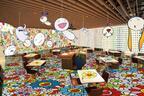 """六本木ヒルズが村上隆の""""お花""""であふれる35日間。「お花カフェ」が限定オープン"""