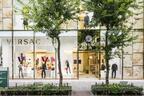 ヴェルサーチの旗艦店が銀座にオープン、ゴールドメデューサ復活に沸く