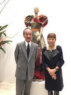 大御所二人が銀座で初の競演、ジュエリーデザイナー森暁雄×コシノヒロコ