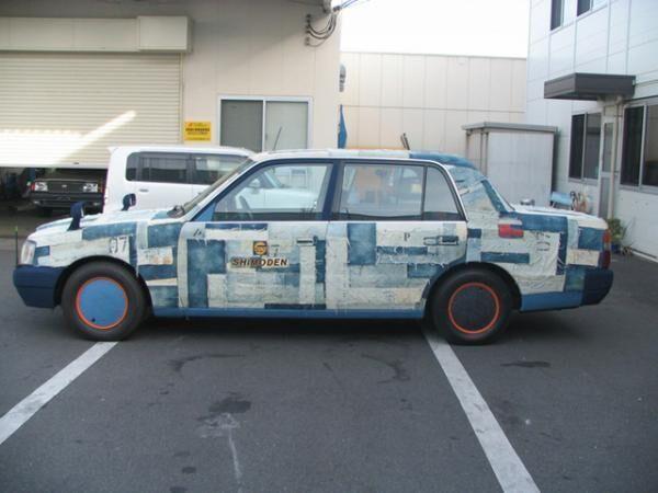 全国初の「リアルジーンズタクシー」が岡山県倉敷市児島地区周辺で運行