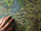 幾重もの色彩の美、アメリカ・ペンシルベニアの職人夫婦による全行程手作業の木版画