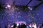 アートなお花見パーティー「美と、花あそび。2016」が、銀座の資生堂花椿ホールで開催