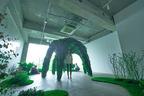 植物がスピーカーに!?ニコライ バーグマンと大沢伸一による音楽を奏でる公園が出現