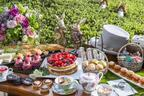 『不思議の国のアリス』のデザートブッフェがヒルトン東京で開催