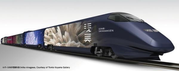 """新幹線で移動しながら現代アートが鑑賞できる""""世界最速美術館""""「現美新幹線」が運行をスタート"""