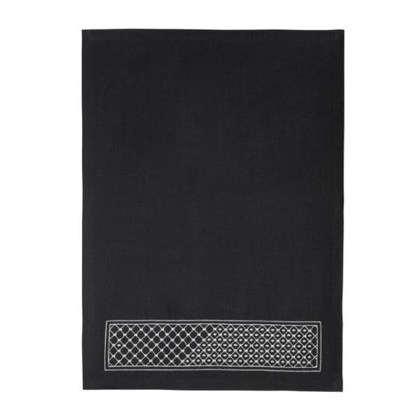 ランチョンマット/黒(2万4,000円)
