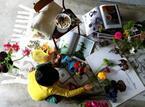 親子でフラワーアレンジメントを学ぶ。BONTON×フラワーアーティスト山下郁子が母の日に贈るワークショップ