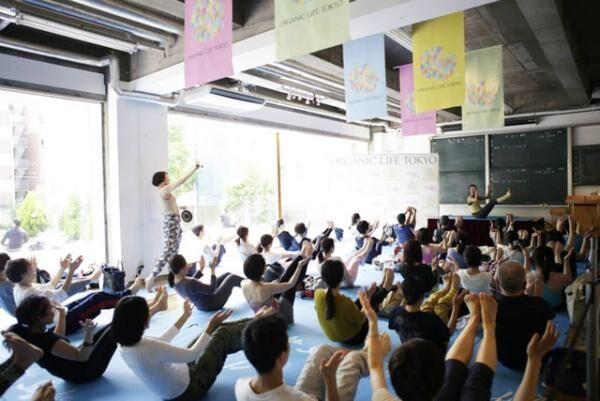 東京エリア最大級のヨガイベント「オーガニックライフTOKYO」が開催