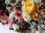 パスザバトンをロマンティックな花々で埋め尽くす、アトリエ染花による展覧会「Romantic flower」開催