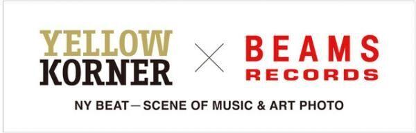 YELLOW KORNER × BEAMS RECORDSロゴ
