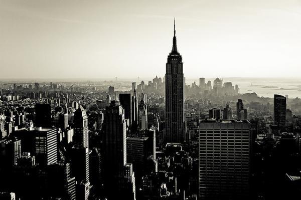 Guillaume Gaudet「Coucher de soleil sur Manhattan」(YELLOW KORNER)