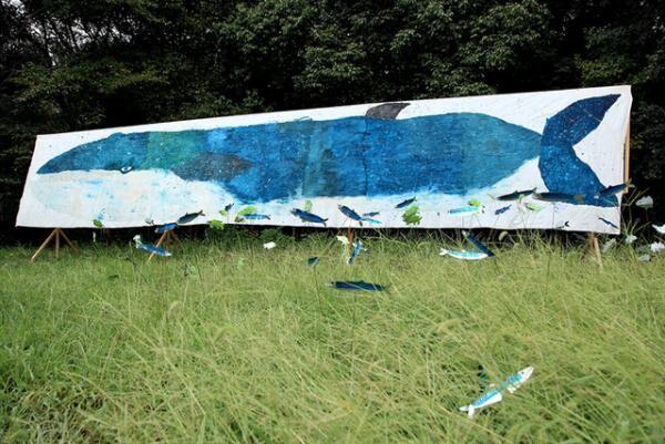 ミロコマチコ《ナガスクジラ》2010