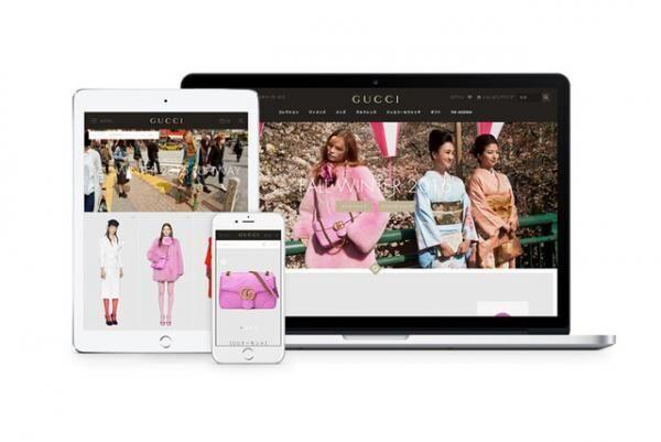 グッチがデザインやプラットフォームをリニューアルした公式ウェブサイト「Gucci.com」をローンチ
