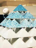 アート×科学の広がる可能性、水滴を釉薬で永遠化!?中村元風の作品展が新宿伊勢丹で開催