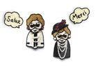 ミュベールのイカしたおばあちゃん「グランマ」が、小林モー子とのコラボでブローチになって登場