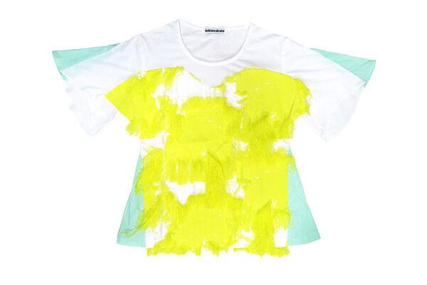 ミキオ サカベがコンセントのカラーであるイエローをイメージして仕上げた特別別注アイテム(3万円)
