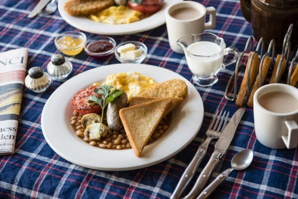 「イギリスの朝ごはん」(1,500円)