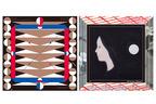 キギのデザインによる12の限定スカーフ、白金のOFS galleryでイベント「12 Scarfs」開催中