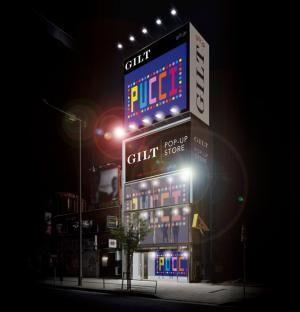 エミリオ・プッチが「ギルト」とのコラボレーションによるポップアップショップを表参道にオープン