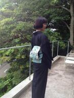 着物好き・お酒好きのイラストレーター平尾香によるカクテル付き浴衣着付け教室開催