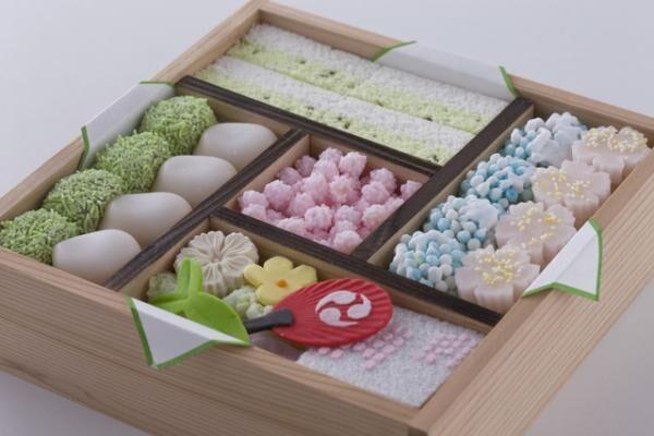 京のよすが3,500円。写真は7月上旬の菓子。