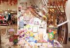 スキスキダイスキ!小川恵子の展覧会がイセタンガールギャラリーで開催