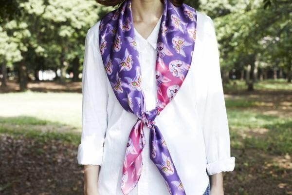 「ditto スカーフが結ぶ、アートとファッション展」開催