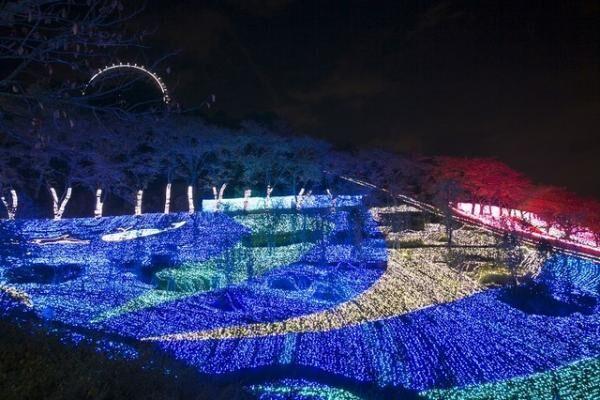 関東最大級のイルミネーションイベント、「さがみ湖イルミリオン」がオープン