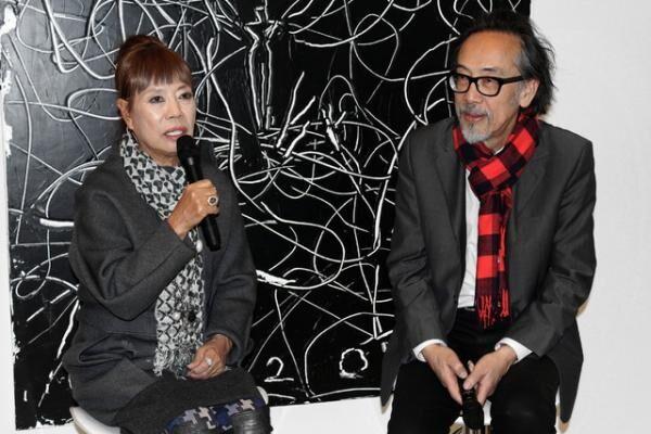 小篠弘子と黒田アキが語る絵とファッション