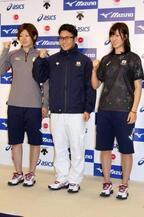 日本選手団、ソチ五輪でデサントのトランスフォームジャケット着用