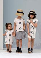 パリの子供服「ボンポワン」のロマンティックな春の新作