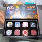 漫画『ナルト』のショコラがサロン・デュ・ショコラに登場。ナルトは柚子、サスケは胡麻