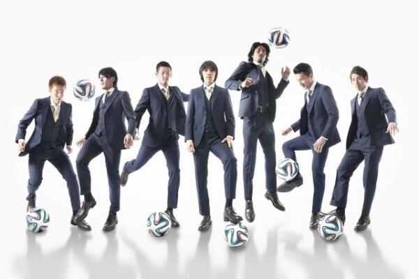 マッキントッシュフィロソフィー、横浜F・マリノスのオフィシャルスーツ提供