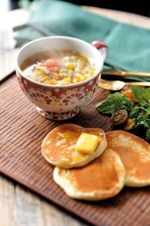 【月曜日】ボウル:三浦愛子、レシピ:渡辺有子「春野菜のミネストローネ」