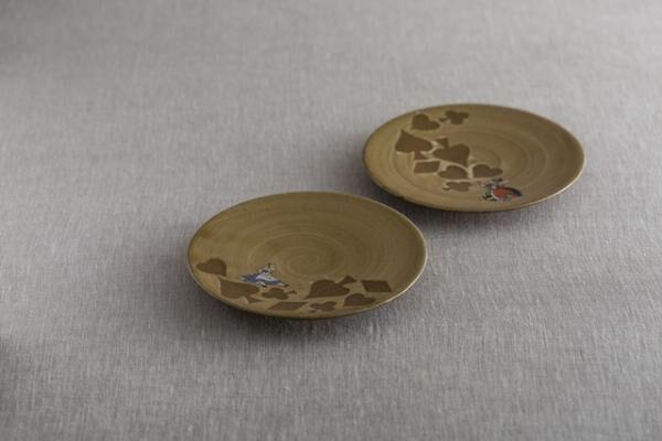 小皿/ アリス、ハートの女王とハートの王各1,700円