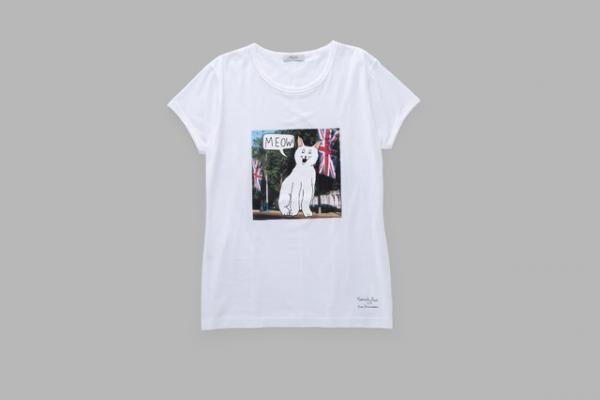 ポール・スミス×イアン・スティーブンソンのTシャツ