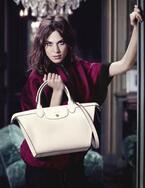 ロンシャン、秋冬広告はアレクサ・チャンと新アイコンバッグ