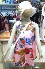 手ぬぐい子供服「けろりんベビー」が新宿伊勢丹に期間限定で登場